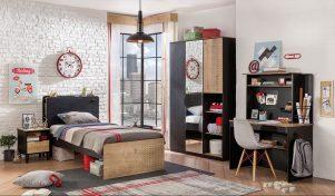 Black series teen room