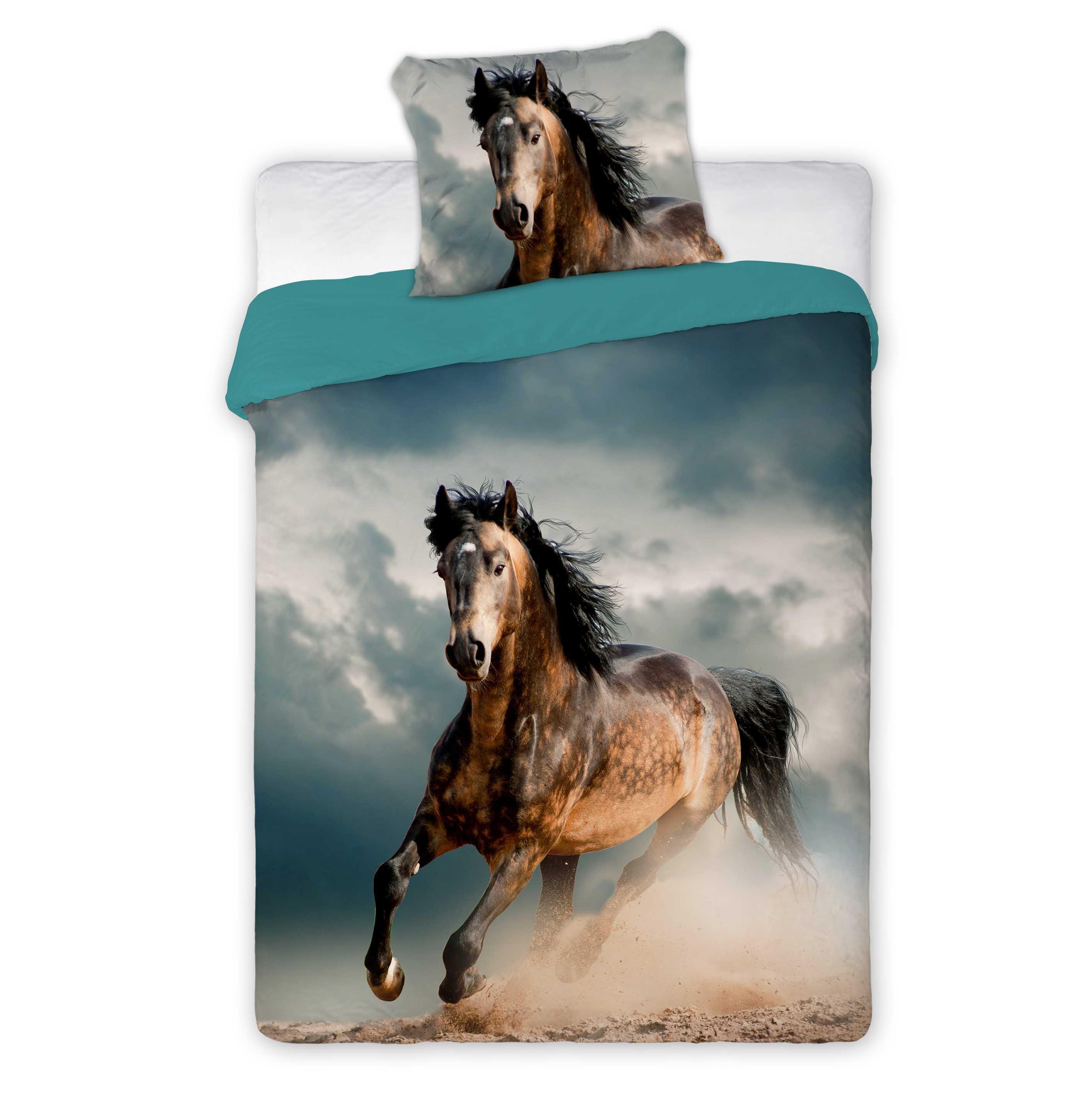 påslakan med hästmotiv